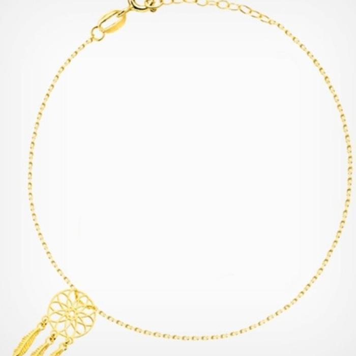 Bransoletka złota próba 585 4